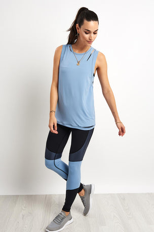 Alala Curve Tank - Ice Blue image 4 - The Sports Edit