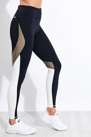 Alala Edge Ankle Tight - Gold Dust image 1 - The Sports Edit