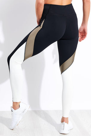 Alala Edge Ankle Tight - Gold Dust image 3 - The Sports Edit