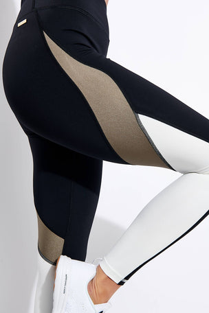 Alala Edge Ankle Tight - Gold Dust image 4 - The Sports Edit