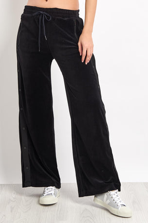 Alala Gwen Track Pants - Black Velvet image 1 - The Sports Edit