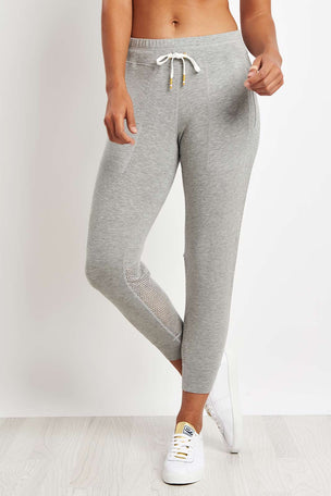 Alala Heron Jogger - Heather Grey image 1 - The Sports Edit