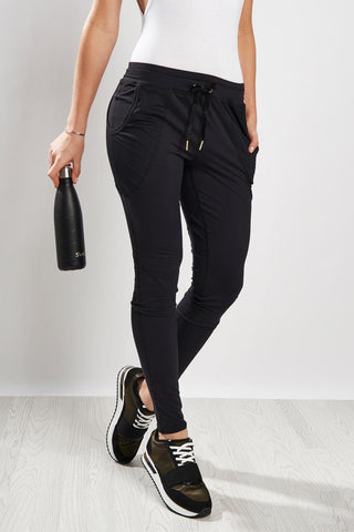 Alala Jersey Pant Black image 1 - The Sports Edit
