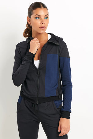 Alala Mesa Bomber Black/Navy image 2 - The Sports Edit