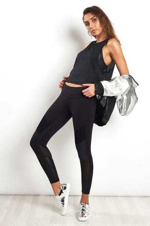 Alala Mesh Tank - Black image 4 - The Sports Edit