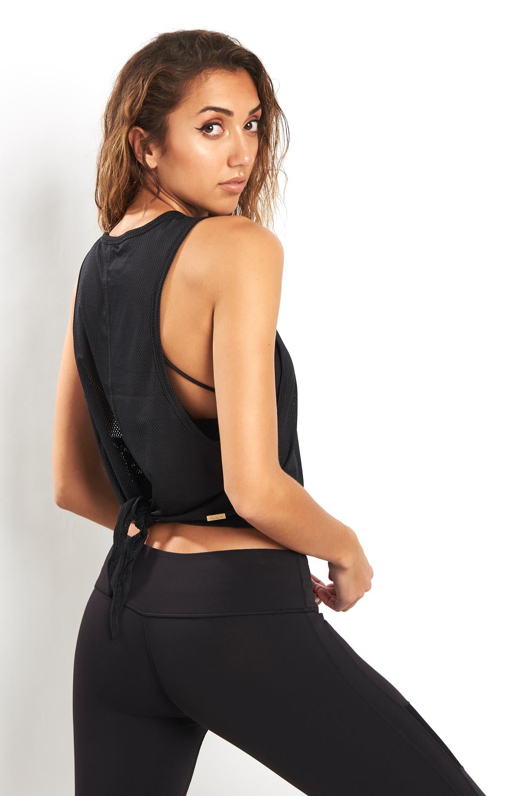Alala Mesh Tank - Black image 3 - The Sports Edit