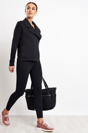 Alala Moto Jacket - Black image 4 - The Sports Edit