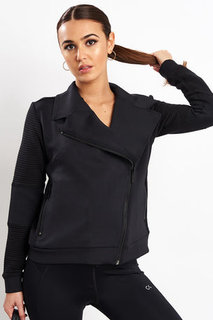 Alala Moto Jacket - Black image 1 - The Sports Edit