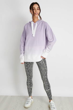 Alala Ombre Hoodie - Lilac image 2 - The Sports Edit
