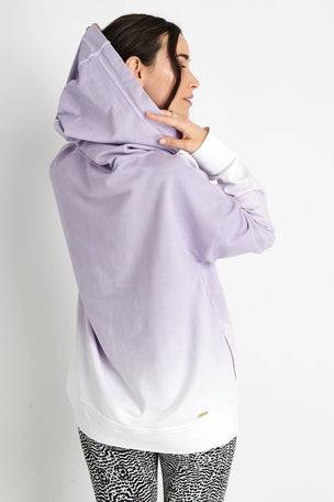 Alala Ombre Hoodie - Lilac image 3 - The Sports Edit