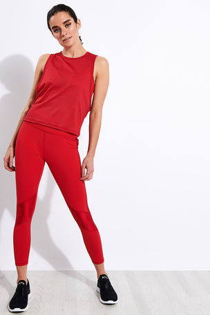 Alala Peak Tight - Ruby image 2 - The Sports Edit