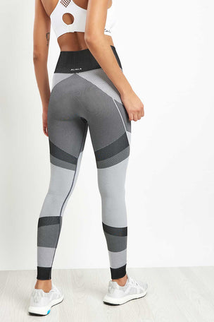 Alala Score Tight - Black/ Grey image 2 - The Sports Edit