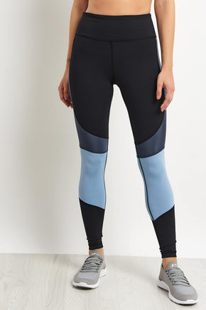 3391e7a406db6 Alala Vamp Tights - Ice Blue/Black image 1 - The Sports Edit