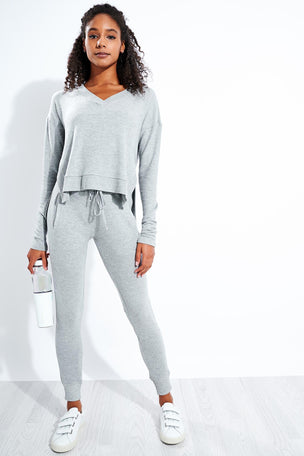 Alala Wander Sweatpant - Glacier image 2 - The Sports Edit