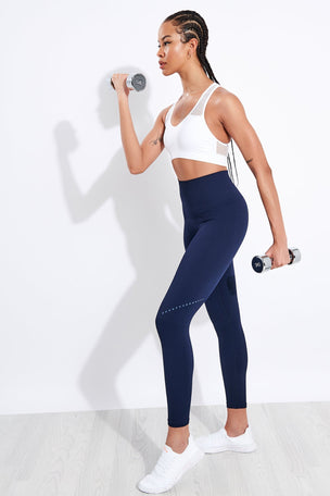 Alala Essential Seamless Bra - White image 2 - The Sports Edit