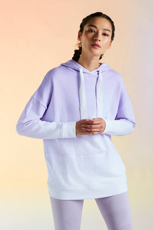 Alala Ombre Hoodie - Lilac image 5 - The Sports Edit
