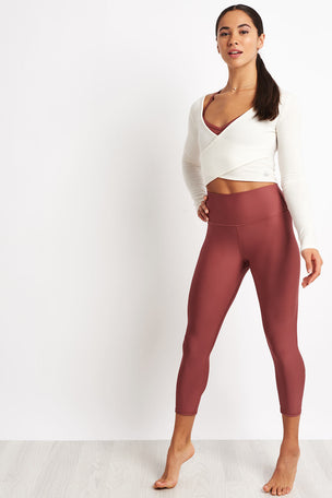 Alo Yoga Amelia Luxe Longsleeve - Pristine image 4 - The Sports Edit