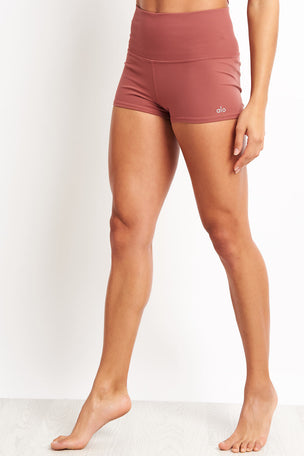 Alo Yoga Aura Short - Rosewood image 1 - The Sports Edit