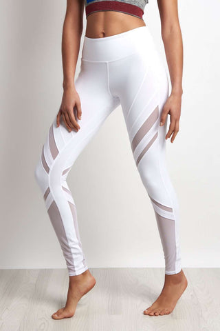 Alo Yoga Epic Legging - White image 1 - The Sports Edit