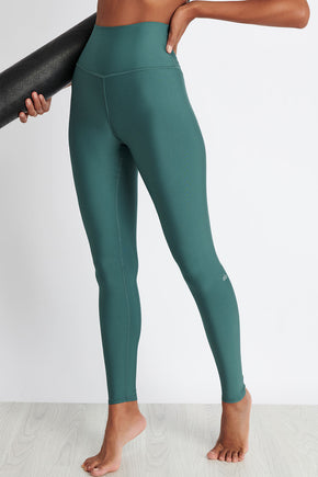c7d6704d13ccd1 Alo Yoga High-Waist Airlift Legging - Seagrass image 1 - The Sports Edit