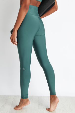Alo Yoga High-Waist Airlift Legging - Seagrass image 2 - The Sports Edit