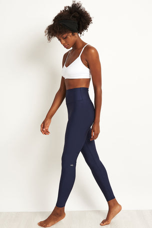 Alo Yoga High Waisted Airlift Legging - Rich Navy image 4 - The Sports Edit