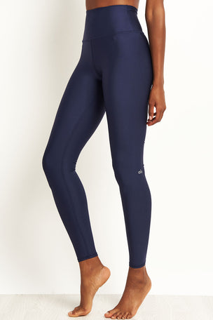 Alo Yoga High Waisted Airlift Legging - Rich Navy image 1 - The Sports Edit