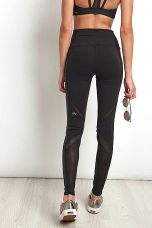 Alo Yoga High Waist Epic Legging Black image 2 - The Sports Edit