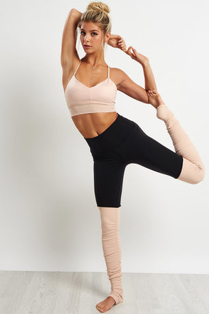 Alo Yoga High Waist Goddess Leggings - Nectar image 4 - The Sports Edit