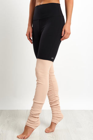 Alo Yoga High Waist Goddess Leggings - Nectar image 1 - The Sports Edit