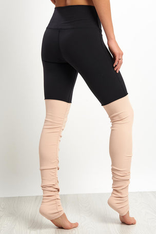 Alo Yoga High Waist Goddess Leggings - Nectar image 2 - The Sports Edit