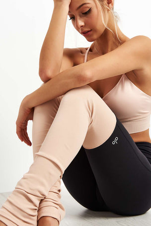 Alo Yoga High Waist Goddess Leggings - Nectar image 5 - The Sports Edit