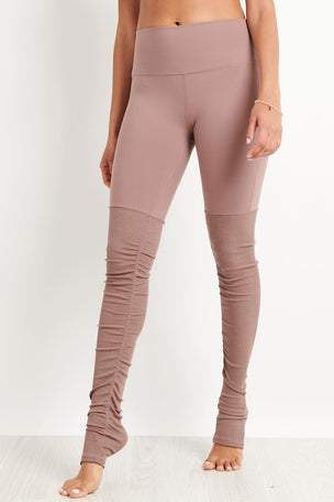 Alo Yoga High Waist Goddess Legging - Smoky Quartz image 5 - The Sports Edit