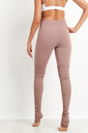 Alo Yoga High Waist Goddess Legging - Smoky Quartz image 2 - The Sports Edit