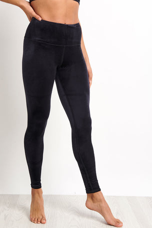 Alo Yoga High Waist Posh Legging - Black image 2 - The Sports Edit