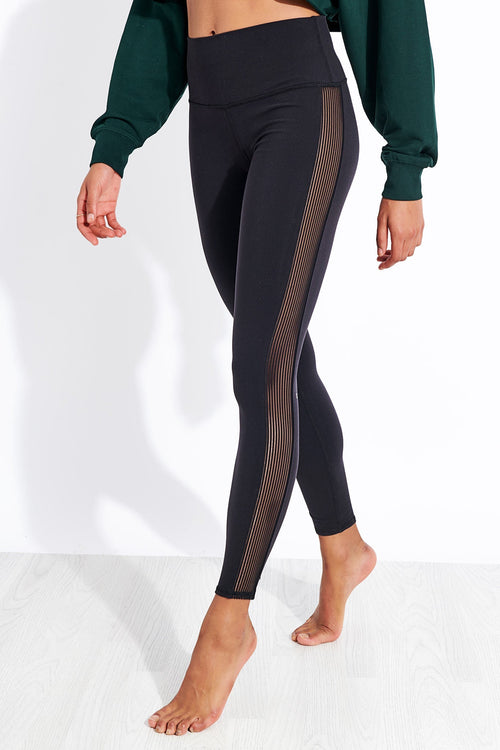 Charcoal//Navy 14-16 Plus Size Capri Leggings Premium Quality Womens Compression Yoga Pants for The Curvy Girl Made in USA XL