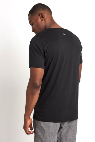 Alo Yoga Easy V Neck Tee Triblend image 2 - The Sports Edit