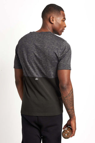 Alo Yoga Energy Short Sleeve Crew Tee image 2 - The Sports Edit