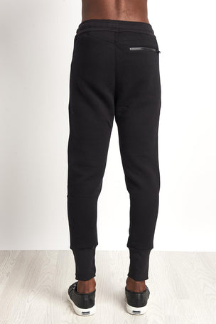 Alo Yoga Lounge Moto Jogger Black image 2 - The Sports Edit