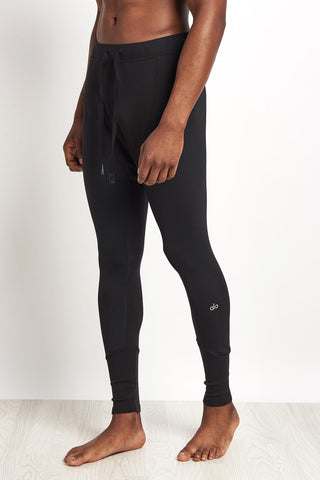 Alo Yoga Rebel Compression Tight Black image 1 - The Sports Edit