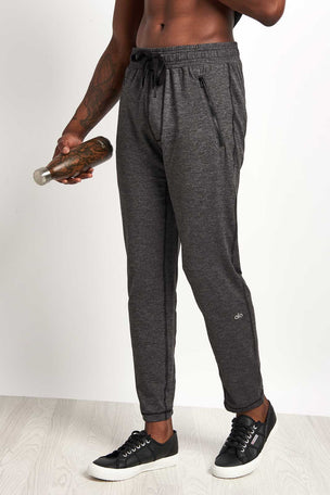 Alo Yoga Renew Lounge Pant Graphite image 1 - The Sports Edit