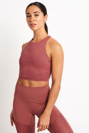 Alo Yoga Movement Bra - Rosewood image 1 - The Sports Edit
