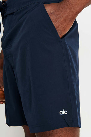 Alo Yoga Plow Board Short - Dark Navy image 3 - The Sports Edit