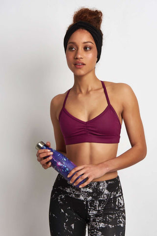 Alo Yoga Sunny Strappy Bra Juneberry image 1 - The Sports Edit