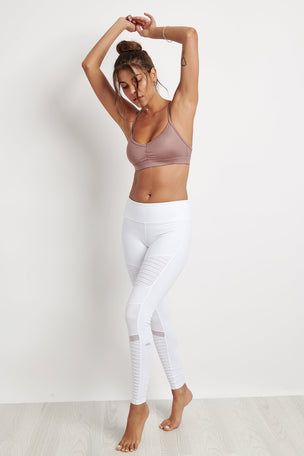 Alo Yoga Sunny Strappy Bra - Smoky Quartz image 4 - The Sports Edit
