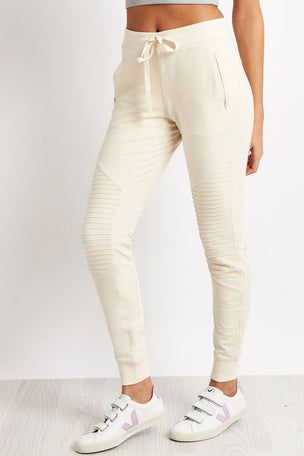 Alo Yoga Urban Moto Sweatpant - Pristine image 1 - The Sports Edit