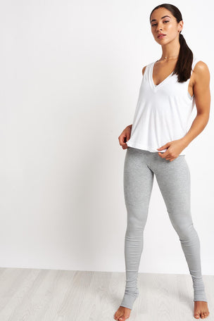 Alo Yoga Vibration Tank - White image 4 - The Sports Edit