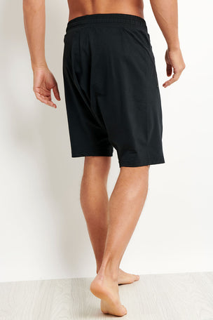 Alo Yoga Drop Crotch Short - Black image 2 - The Sports Edit