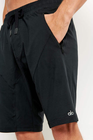Alo Yoga Drop Crotch Short - Black image 3 - The Sports Edit