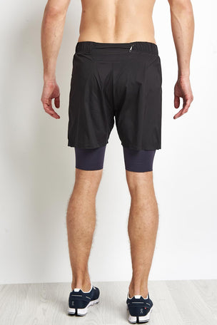 Ashmei 2 in 1 Short 2.0 - Black image 2 - The Sports Edit
